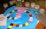 Atelier de création d'un jeu de société avec des senteurs naturelles